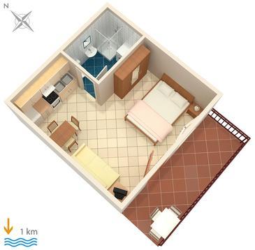 Studio AS-6986-a - Apartamenty Pula (Pula) - 6986
