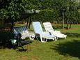 Courtyard Valbandon (Fažana) - Accommodation 6993 - Apartments with pebble beach.