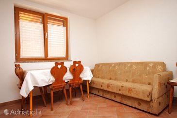 Umag, Dining room u smještaju tipa apartment, dopusteni kucni ljubimci i WIFI.