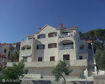 Property Postira (Brač) - Accommodation 700 - Apartments with pebble beach.