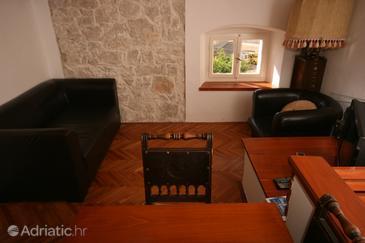 Vrsar, Obývací pokoj u smještaju tipa apartment, dostupna klima, dopusteni kucni ljubimci i WIFI.