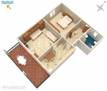 Apartment A-7094-b - Apartments Umag (Umag) - 7094
