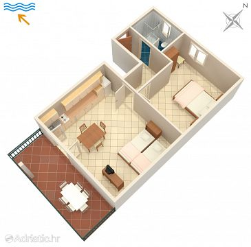 Apartment A-7094-c - Apartments Umag (Umag) - 7094