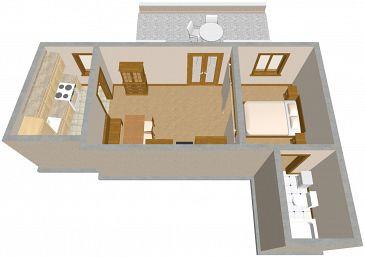 Studio AS-719-a - Apartamenty Sutivan (Brač) - 719