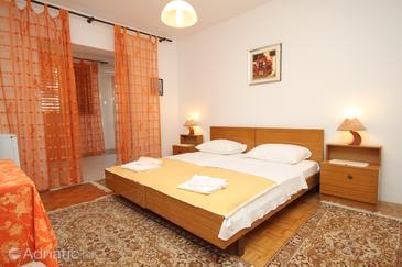 Medulin, Bedroom u smještaju tipa room, dostupna klima, dopusteni kucni ljubimci i WIFI.