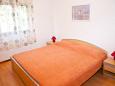 Ližnjan, Bedroom 1 u smještaju tipa apartment, dopusteni kucni ljubimci i WIFI.