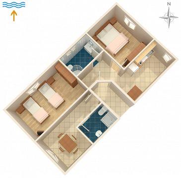 Apartament A-7257-a - Apartamenty Valbandon (Fažana) - 7257