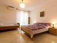 Fažana, Bedroom u smještaju tipa apartment, dostupna klima, dopusteni kucni ljubimci i WIFI.