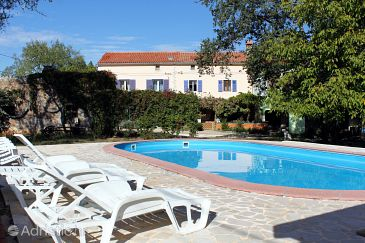 Property Valtura (Pula) - Accommodation 7324 - Vacation Rentals with sandy beach.