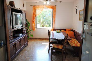 Milna, Dining room u smještaju tipa apartment, dopusteni kucni ljubimci i WIFI.
