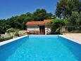 Courtyard Presika (Labin) - Accommodation 7363 - Vacation Rentals with pebble beach.