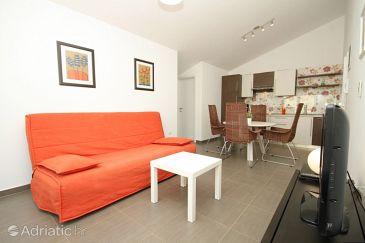 Fažana, Living room u smještaju tipa apartment, dostupna klima.