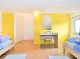 Poreč, Bedroom 2 u smještaju tipa apartment, WIFI.