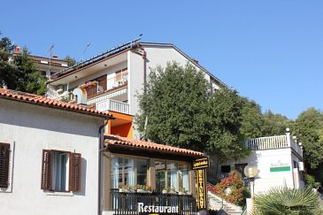 Property Rabac (Labin) - Accommodation 7401 - Apartments near sea with pebble beach.