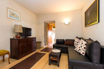 Kožljak, Living room 1 u smještaju tipa house, dostupna klima, dopusteni kucni ljubimci i WIFI.