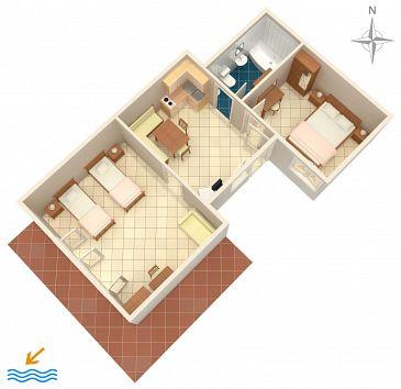 Apartament A-7410-a - Apartamenty Rabac (Labin) - 7410