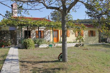 Property Salakovci (Labin) - Accommodation 7434 - Vacation Rentals with pebble beach.