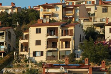 Property Rabac (Labin) - Accommodation 7441 - Apartments with pebble beach.
