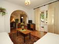 Rabac, Living room u smještaju tipa apartment, dopusteni kucni ljubimci i WIFI.