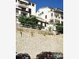 Parking lot Rabac (Labin) - Accommodation 7474 - Apartments with pebble beach.