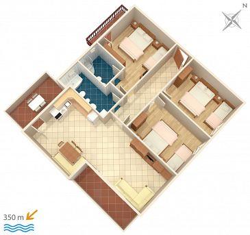 Apartment A-7482-b - Apartments Mali Rat (Omiš) - 7482