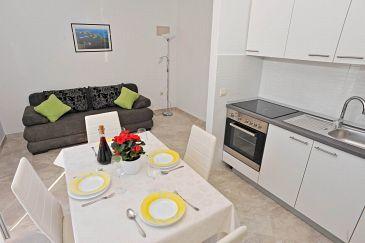 Sutivan, Living room u smještaju tipa apartment, dopusteni kucni ljubimci.