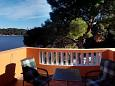Balcony - Studio flat AS-7531-a - Apartments Sobra (Mljet) - 7531
