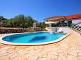 Courtyard Gradina (Korčula) - Accommodation 7552 - Vacation Rentals with rocky beach.