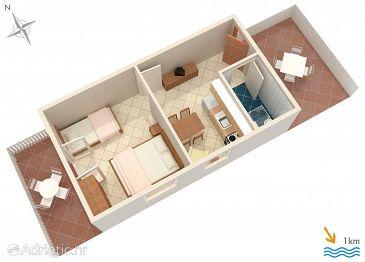 Apartment A-756-h - Apartments Pučišća (Brač) - 756
