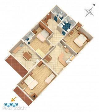 Apartment A-7576-a - Apartments Duće (Omiš) - 7576