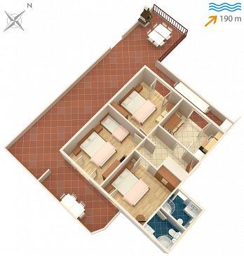 Apartament A-7584-a - Apartamenty Slatine (Čiovo) - 7584