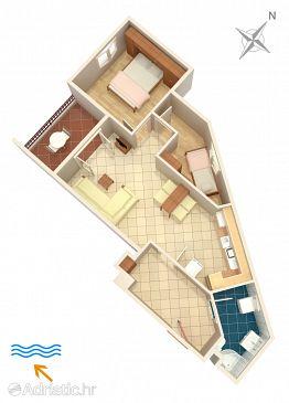 Apartment A-7594-a - Apartments Podstrana (Split) - 7594