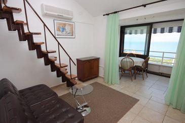 Ravni, Living room u smještaju tipa apartment, dostupna klima i dopusteni kucni ljubimci.