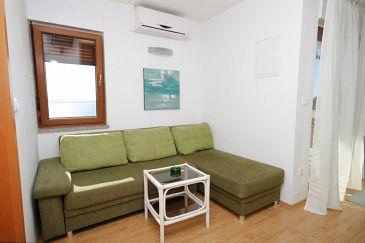 Mošćenice, Living room u smještaju tipa apartment, dostupna klima, dopusteni kucni ljubimci i WIFI.