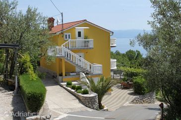 Property Medveja (Opatija) - Accommodation 7721 - Apartments with pebble beach.