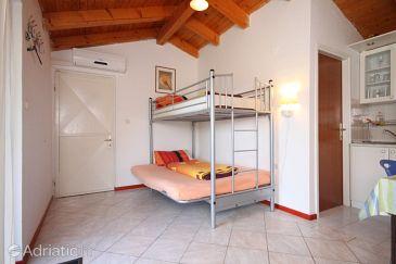 Mošćenička Draga, Living room u smještaju tipa apartment, dostupna klima, dopusteni kucni ljubimci i WIFI.