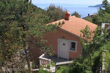 Property Brseč (Opatija) - Accommodation 7727 - Vacation Rentals with pebble beach.