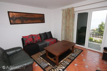 Ičići, Living room u smještaju tipa apartment, dostupna klima, dopusteni kucni ljubimci i WIFI.