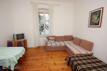 Mošćenička Draga, Living room u smještaju tipa apartment, WIFI.