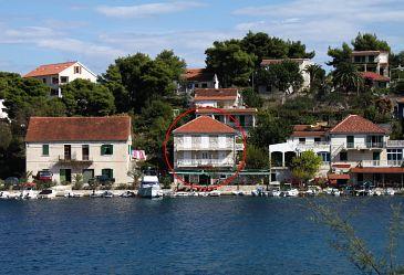 Obiekt Stomorska (Šolta) - Zakwaterowanie 781 - Apartamenty blisko morza ze żwirową plażą.