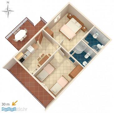 Apartment A-782-d - Apartments Stomorska (Šolta) - 782