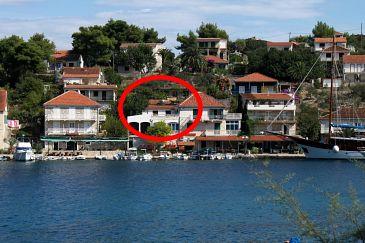 Obiekt Stomorska (Šolta) - Zakwaterowanie 783 - Apartamenty blisko morza ze żwirową plażą.