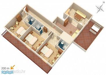 Apartment A-786-a - Apartments Marušići (Omiš) - 786