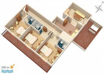 Apartament A-786-a - Apartamenty Marušići (Omiš) - 786