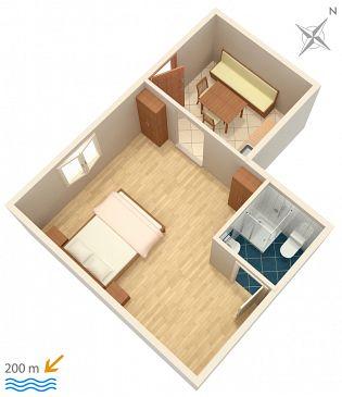 Studio AS-786-a - Apartamenty Marušići (Omiš) - 786
