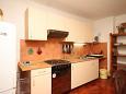 Mali Lošinj, Kitchen u smještaju tipa apartment, dopusteni kucni ljubimci.