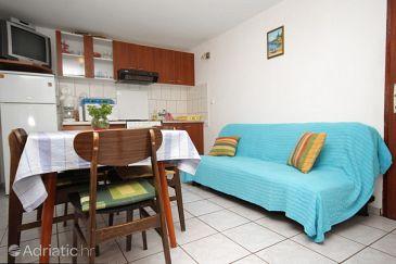 Mali Lošinj, Dining room u smještaju tipa apartment, dopusteni kucni ljubimci i WIFI.