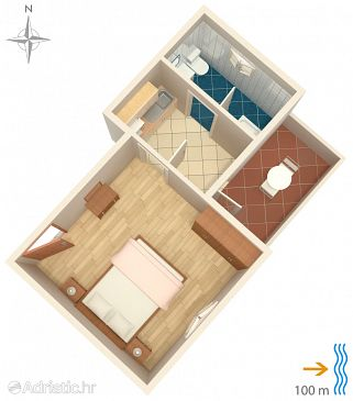 Apartment A-8050-b - Apartments Susak (Lošinj - Susak) - 8050