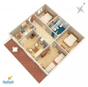Apartament A-808-a - Apartamenty Tisno (Murter) - 808