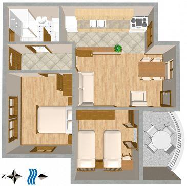 Apartment A-809-a - Apartments Tisno (Murter) - 809